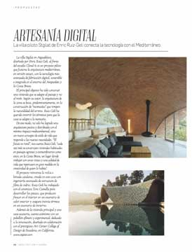 St.Gilat press: Arquitectura y Diseño. May 2019