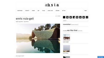 St.Gilat press: Afasia Architecture Magazine. Feb. 2019