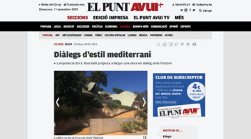 St.Gilat press: El Punt. Feb. 2019