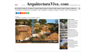 St.Gilat press: Arquitectura Viva. March 2019